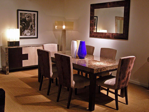 Stone International - Dining Table - 0476