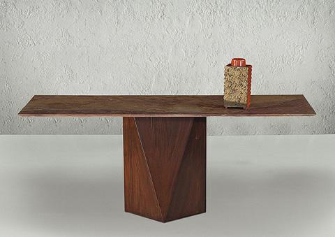 Stone International - Freedon Steel Console Table - 4104/L