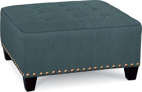 Thomasville Furniture - Brooklyn Square Button Top Ottoman - 1836-16