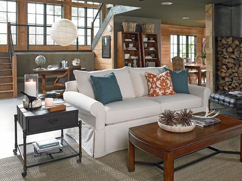 Thomasville Furniture - Concord Slipcover Sofa - 1903-11SC