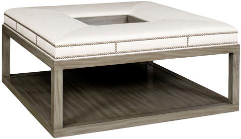 Vanguard Furniture - Wayland Square Wood Ottoman - W44SW