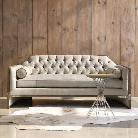 Caracole - Cats Meow Sofa - UPH-SOFWOO-23A