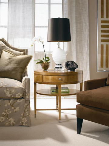 Century Furniture - Chairside Table - 819-624