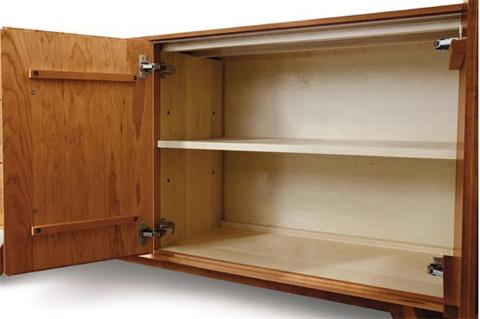 Copeland Furniture - Catalina 2 drawers over 4 door Buffet in Cherry - 6-CAL-60