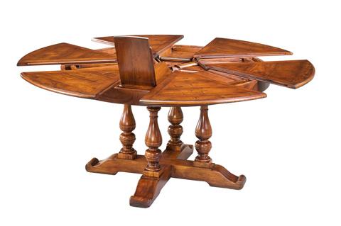 Encore - Walnut Jupe Dining Table Medium - 78-42