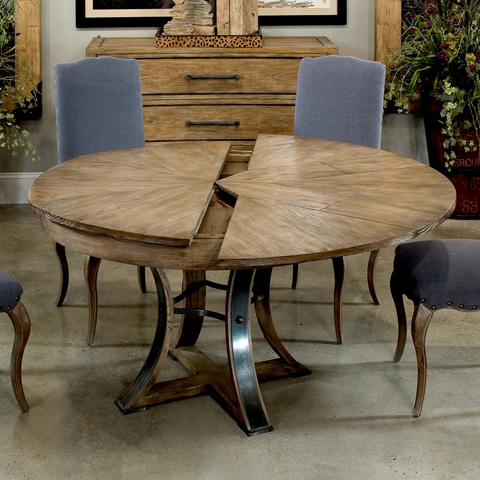 Encore - Tower Jupe Dining Table - 78-122