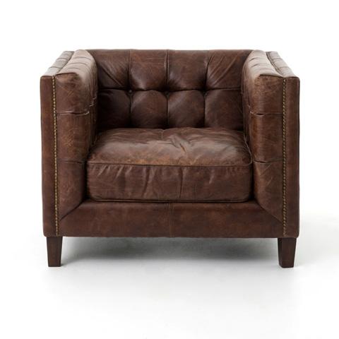 Four Hands - Cigar Abbott Club Chair - CCAR-58