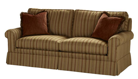 Highland House - Sofa with Track Arms - 100-01