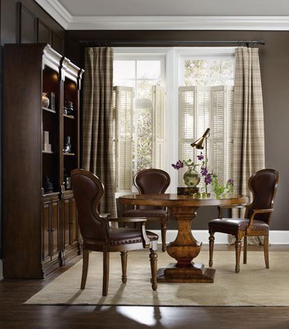 Hooker Furniture - Tynecastle Round Pedestal Dining Table - 5323-75203
