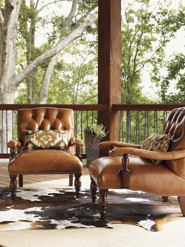 Lexington Home Brands - Wilshire Leather Chair - LL1609-11