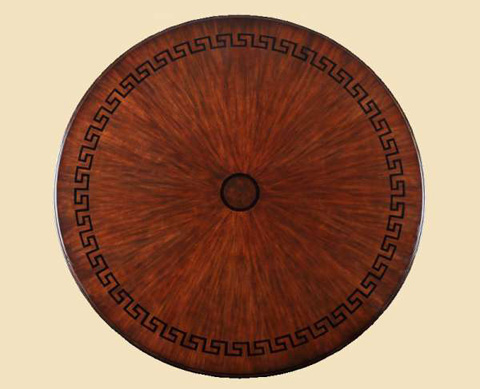 Marge Carson - Ionia Round Dining Table - ION08W-1