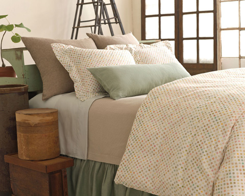 Pine Cone Hill, Inc. - Classic Hemstitch Sky Sheet Set - King - SCLHSKSK