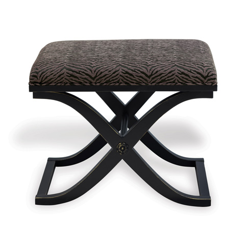 Port 68 - Alex Bench in Antiqued Black Finish - AFBS-040-01
