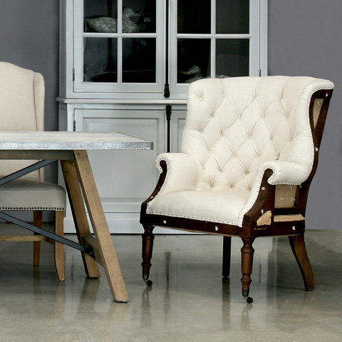 Sarreid Ltd. - Irish Chair - 28907