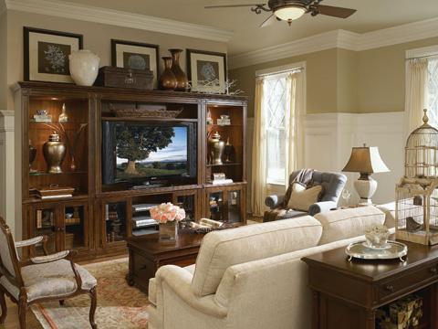 Thomasville Furniture - Three Drawer Chairside Chest - 43431-370
