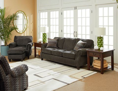 Lane Home Furnishings - Emerson Queen Sleeper Sofa - 702-35