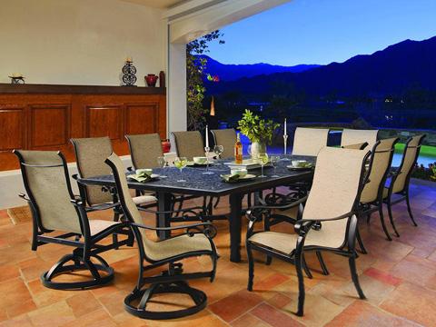 Castelle - Bellanova Adjustable Sling Chaise Lounge - 5492S