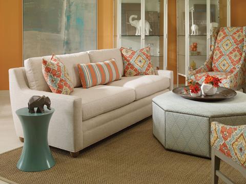 Vanguard Furniture - Orion Ottoman - V933-OT