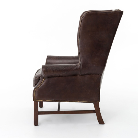 Four Hands - Hawthorne Large Wing Chair - CCAR-09