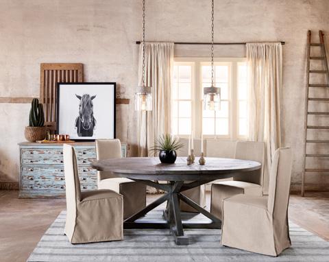 Four Hands - Downey Dining Chair - CIRD-G2C7-B2