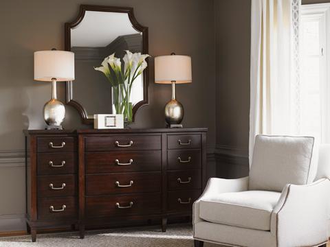 Lexington Home Brands - Baldwin Twelve Drawer Triple Dresser - 708-233
