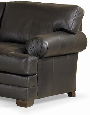 Century Furniture - Leatherstone Wedge Sofa - LR-7600-W