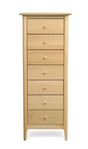 Copeland Furniture - Sarah 7 Drawer Chest - Maple - 2-SRH-70