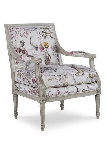 Pearson - Wood Trim Accent Chair - 1365-00