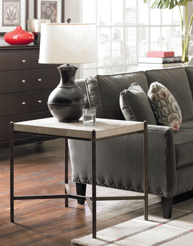 Thomasville Furniture - Stone Top End Table - 82191-221
