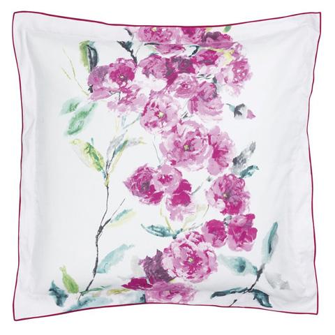 Designers Guild - Shanghai Garden Peony Queen Duvet Cover - BEDDG0655