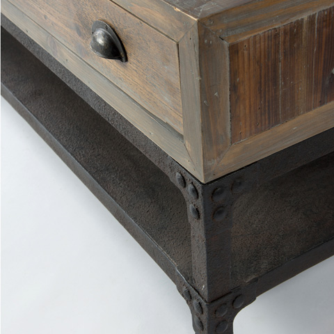 Four Hands - Campbell Coffee Table - CIRD-11D2-C2