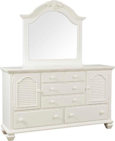 Broyhill Furniture - Arched Dresser Mirror - 4024-236