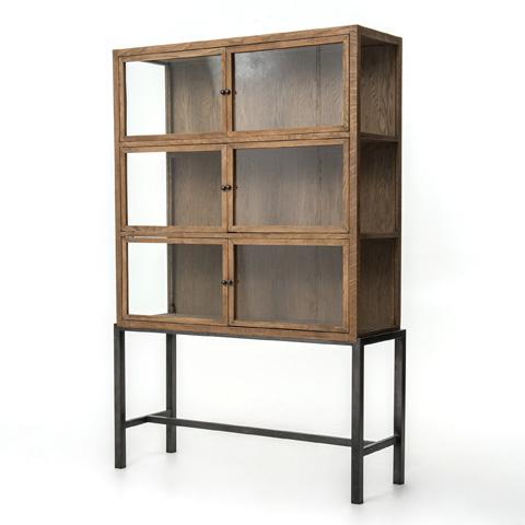 Four Hands - Spencer Curio Cabinet - CIRD-C5E1-C5