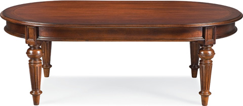 Thomasville Furniture - Oval Cocktail Table - 43431-115