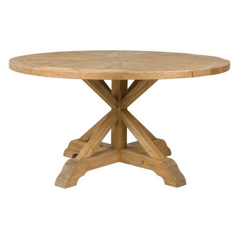 Four Hands - Opio Round Dining Table - CIMP-J3-BP