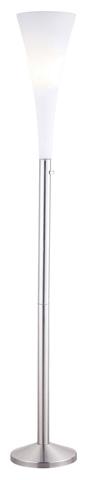 Adesso Inc., - Adesso Mimosa One Light Torchiere in Satin Steel - 3078-22