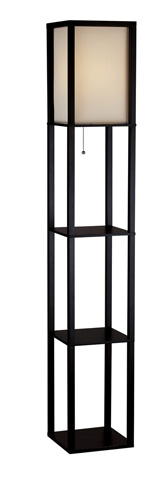 Adesso Inc., - Adesso Wright One Light Tall Floor Lamp - 3138-01