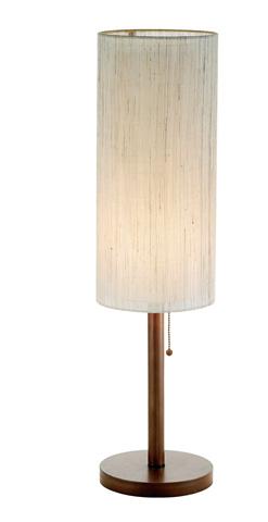 Adesso Inc., - Adesso Hamptons One Light Table Lamp in Walnut - 3337-15