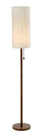Adesso Inc., - Adesso Hamptons One Light Floor Lamp in Walnut - 3338-15