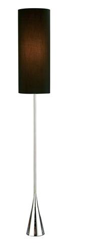 Adesso Inc., - Adesso Bella One Light Floor Lamp in Chrome - 4029-22