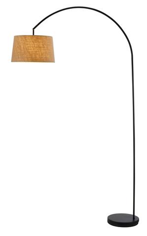 Adesso Inc., - Adesso Goliath One Light Arc Lamp in Black - 5098-01