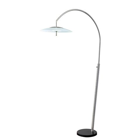 Adesso Inc., - Adesso Stellar One Light LED Arc Floor Lamp - 5129-22