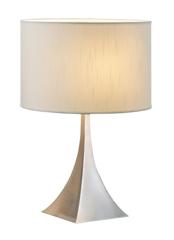 Adesso Inc., - Adesso Luxor One Light Table Lamp in Steel - 6363-22