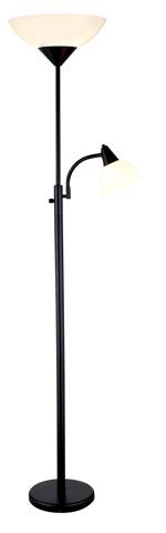 Adesso Inc., - Adesso Piedmont Three Light Combo Torch in Black - 7202-01
