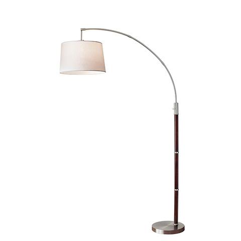 Adesso Inc., - Adesso Alta One Light Arc Floor Lamp - 7208-15