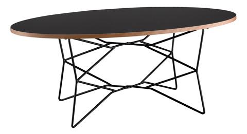 Adesso Inc., - Adesso Network Coffee Table in Black - WK2273-01
