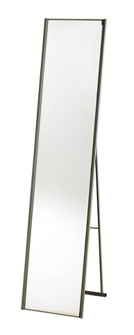 Adesso Inc., - Adesso Alice Floor Mirror in Satin Steel - WK2444-22