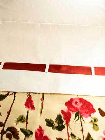 Ann Gish - Cotton Sateen Fitted Sheet - FSCSCK