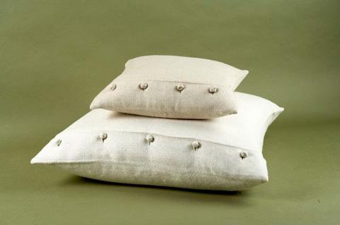 Ann Gish - Basketweave Pillow with French Knots - PWBA1616