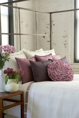 Ann Gish - Cotton Sheet Set with Silk Bands - SSCSCK